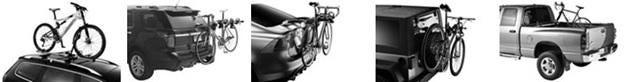 Thule bike carriers and bike racks