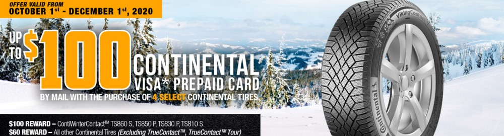 continental promo